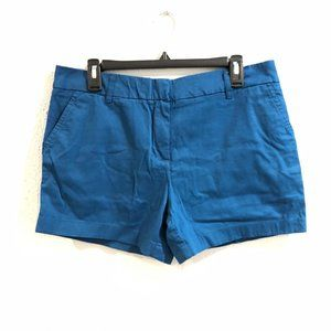 British Khaki NWOT Dark Teal Chino Shorts Size 10